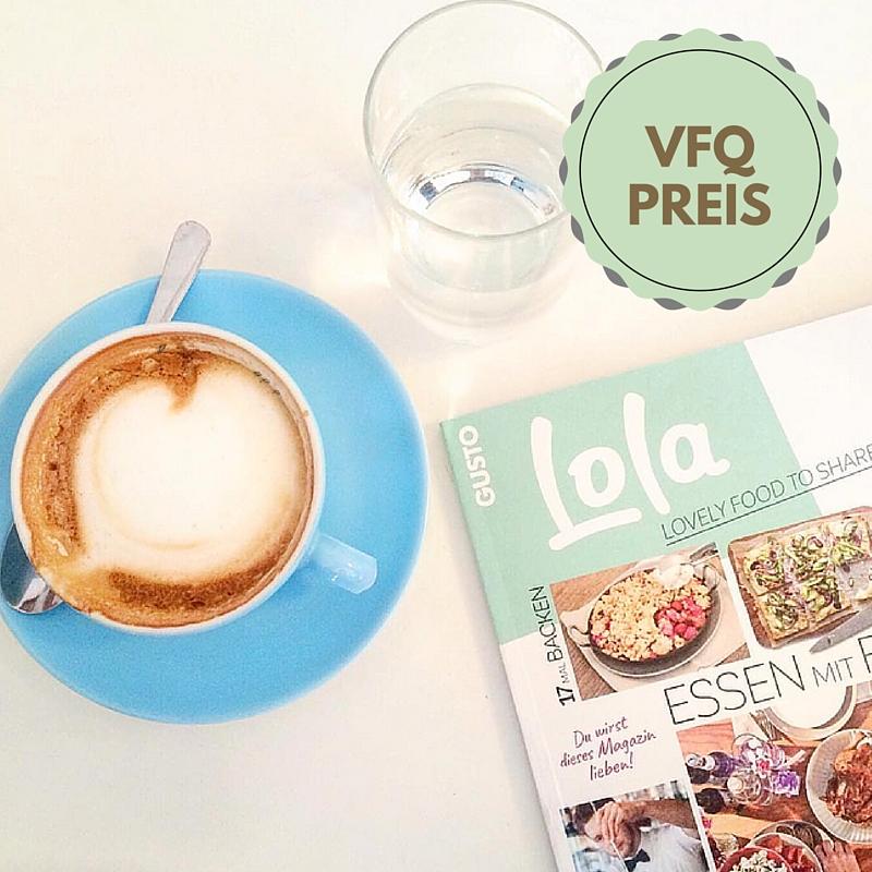 #vfq16 Preis: LOLA Magazin-Abo