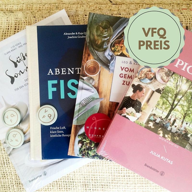 #vfq16-Preis: ein Kochbuchpaket von BRANDSTÄTTER