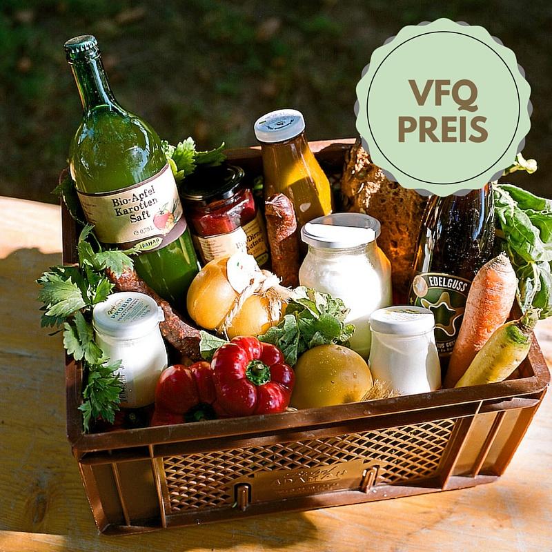 #vfq16-Preis: 4 Biokistl vom ADAMAH Biohof à 20 Euro