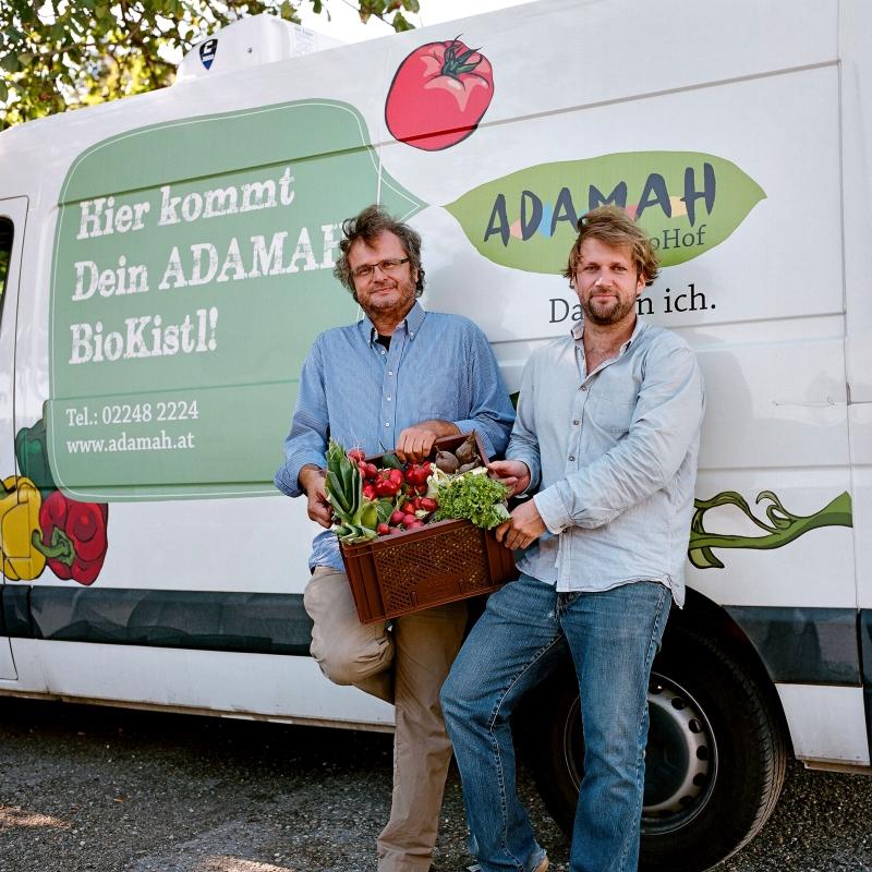 Gerhard und Ekkehard vom Adamah BioHof