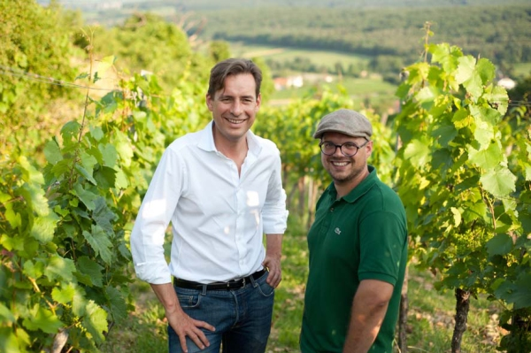 Matthias Krön & Markus Bach © Groszer Wein