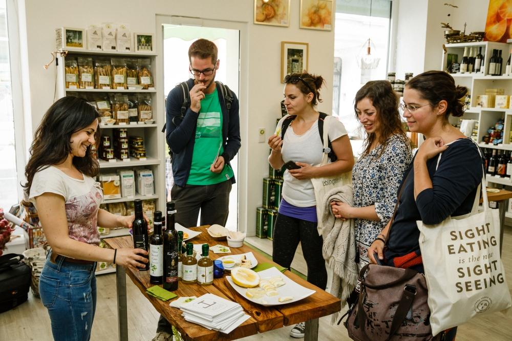 Bei Casa Caria drehte sich alles um die Merkmale von gutem Olivenöl und Zitrusfrüchte © Jürgen Pletterbauer
