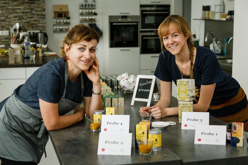 Bianca is(s)t und Sonnentor stellten in der Erfolgsküche die Sinne der Teilnehmer auf die Probe © Jürgen Pletterbauer