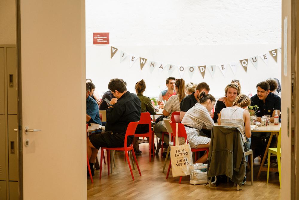 Bei der Vienna Foodie Quest wurde erst gerätselt, dann verkostet © Jürgen Pletterbauer
