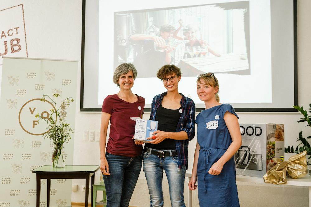 "Gewinnerinnen in der Kategorie ""Wien Pur"" © Jürgen Pletterbauer"
